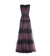 Tadashi Shoji庄司正紫色印花连衣裙