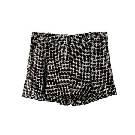 DVF 黑色条纹短裤
