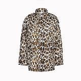 斯特拉-麦卡特尼(Stella McCartney)2013年春豹纹简洁外套