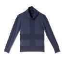 GIADA迦达烟灰蓝羊毛衫