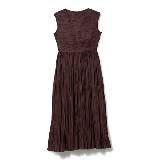 GIADA迦达2015春夏系列勃艮第酒红百褶长裙