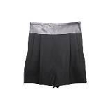 DVF 黑色丝绵短裤