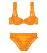 Stella McCartney斯特拉·麦卡特2014春夏系列橘黄色内衣