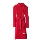 DVF 红色羊毛大衣
