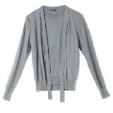 GIADA迦达浅灰色羊毛衫