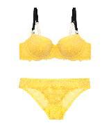 Stella McCartney斯特拉-麦卡特尼黄色内衣