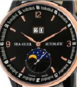 海鸥多功能机械表 219.330(黑盘)