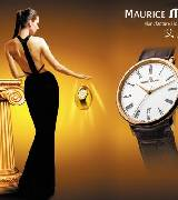 艾美典雅 玫瑰金男款腕表(罗马数字时标)