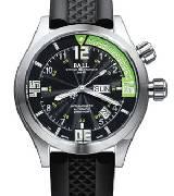 波尔工程师长官升级 DM1020A-SAJ-BKGR(绿色潜水计时圈/胶带)
