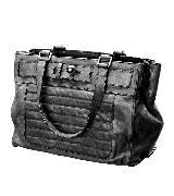 ESCADA 灰色绗缝购物包