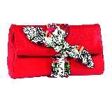 ETRO 艾绰 2013春夏红色印花折叠手包