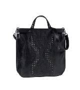 ETRO 黑色镂空手提包