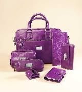 Escada 紫色公文包系列