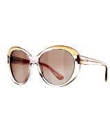 Emilio Pucci 干邑色透明框眼镜