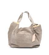 Giuseppe Zanotti Design 灰色麂皮手提包