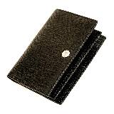 Yves Saint Laurent黑色按扣长钱夹