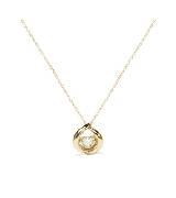 Circle Jewelry心动·18K黄金钻石项链