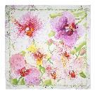 Carolina Herrera 粉红色兰花方巾