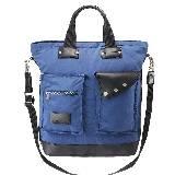 Marc by Marc Jacobs PUNK BOY系列CITY BAG蓝色手袋