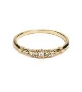 Circle Jewelry等待· 18K黄金钻石戒指