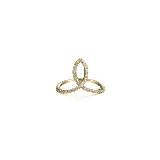 Circle Jewelry18K黄金冠状钻石戒指