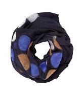 Marimekko 黑色羊毛围巾