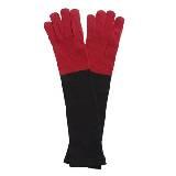 Marimekko 红黑拼色羊毛手套