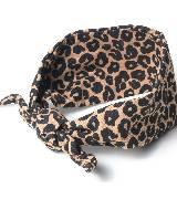Juicy Couture橘滋2014春夏系列豹纹头巾