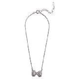 Evita Peroni 银色宝石项链