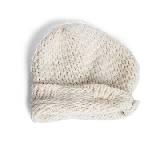 Marisfrolg玛丝菲尔白色毛线帽