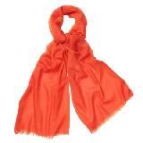 Marimekko 橘色混纺围巾