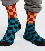 Marimekko 彩色格纹长袜