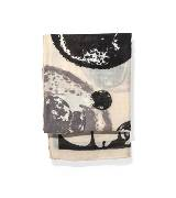 玛丝菲尔春季系列 波点花稿丝巾