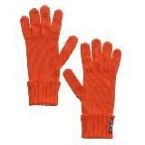 Marimekko 橘色羊毛手套