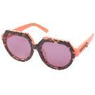 Karen Walker 粉红色墨纹太阳镜