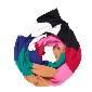 Marimekko 多色针织围巾