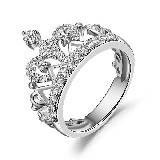 MaBelle玛贝尔镶钻戒指