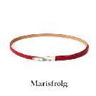 Marisfrolg玛丝菲尔红色细腰带