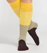 Marimekko 黄色条纹长袜