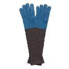 Marimekko 蓝黑拼色羊毛手套