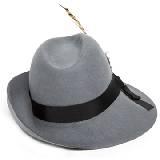 玛丝菲尔冬季系列 灰色宽檐帽