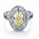 Forevermark永恒印记复古美钻戒指