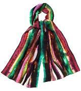 Marimekko 彩色印染真丝围巾