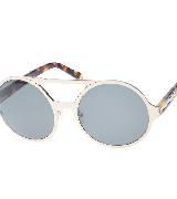 Karen Walker 银色镜框太阳镜