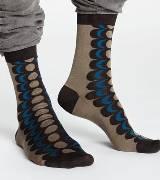Marimekko 咖色花纹长袜