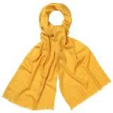 Marimekko 黄色混纺围巾
