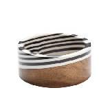 Marimekko 黑白木质条纹手环