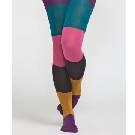 Marimekko 拼色条纹裤袜
