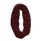 Marimekko 红黑条纹围巾