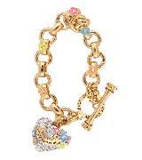 Juicy Couture橘滋2014春夏系列镶钻心形手链